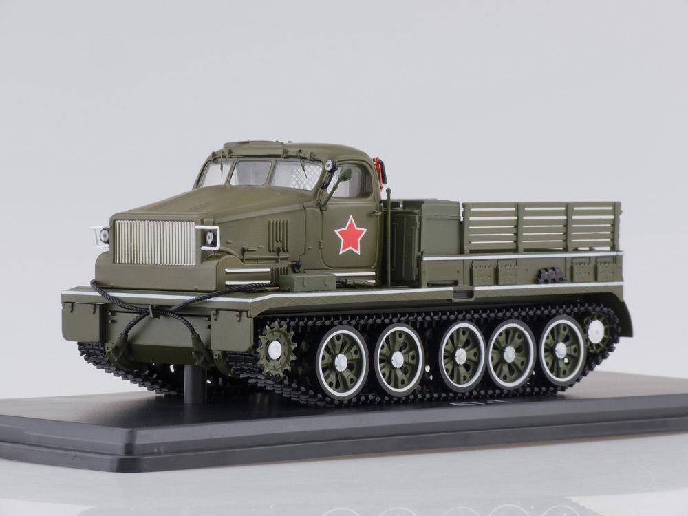 moda clasica 1 43 a-T (chasis de T-54 tanque) todo todo todo terreno del ejército desfile SSM 3018  100% precio garantizado