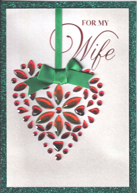 Papyrus Greeting Card Merry Christmas Wife