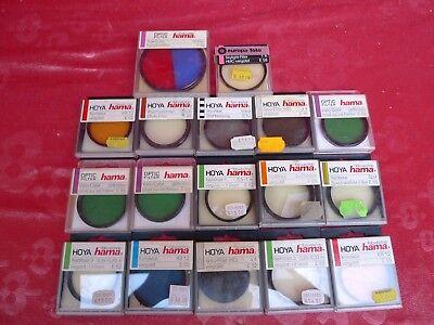 Vernuftig 17 Filter Für Kameras __16x Hama, 1x Europa-foto__! Zorgvuldig Geselecteerde Materialen