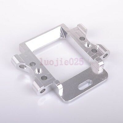 102061 HSP Rear Gear Box Mount Silver For RC 1/10 Car Truck 02021 Upgrade Parts