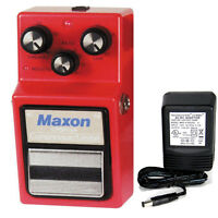 Maxon Cp-9 Pro+ Compressor / Limiter W/ 9v Power Supply Free Shipping
