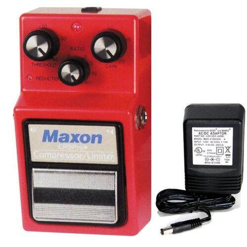 Compressor Maxon CP-9 Pro Limiter w// 9v power supply free shipping!