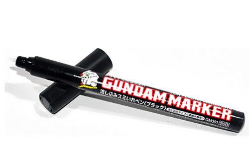 Gundam Marker GM-301P Black Slushing Sumi-ire Pen (Capillarity) GUNPLA GSI CREOS