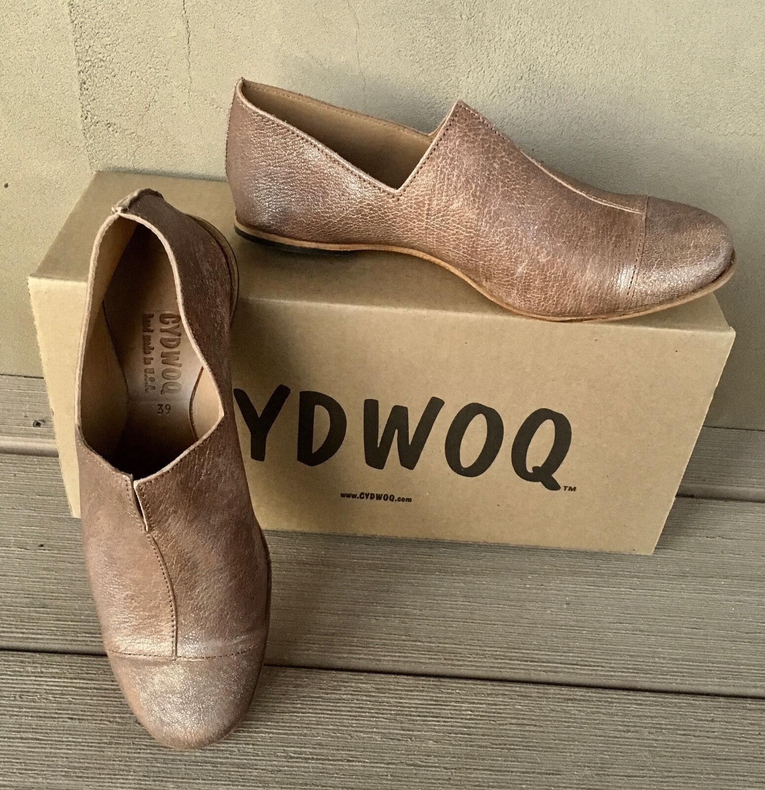 NEW NIB Cydwoq Starlight Medicine Medicine Medicine chaussures 36 6.5 Sundance Catalog slip on   282 64394d