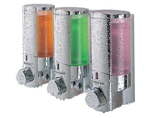 NEW Better Living Products 76345 AVIVA Three Chamber Dispenser Chrome SHIPS FREE