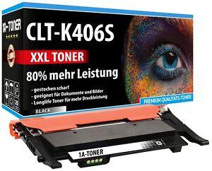 XXL-TONER-CLT-K406S-80-MEHR-NHALT-FUR-SAMSUNG-Xpress-C410W-C460FW-C460W-SCHWARZ