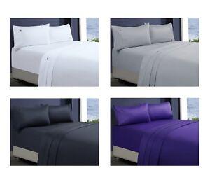 1000TC-Thread-Count-Egyptian-Cotton-Sheet-Set-1-Flat-1-Fitted-Sheet-2-Pillowcase