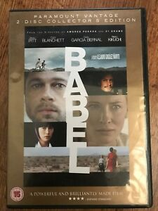 BRAD-PITT-CATE-BLANCHETT-Babel-2006-PREMIADO-Drama-Clasica-Disco-2GB-DVD