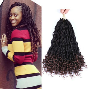 Details about Goddess Box Braids Crochet Braids Hair With Curly Ends  Synthetic Braiding Hair