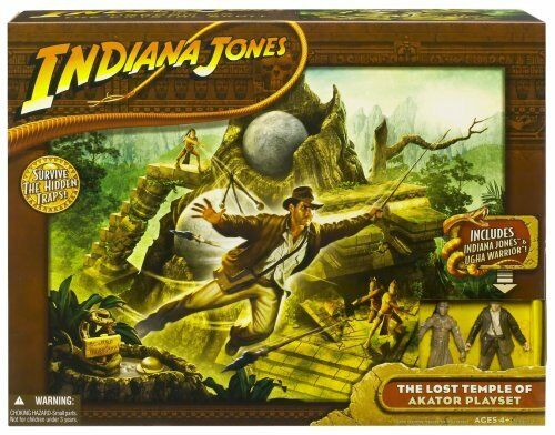 Indiana Jones  Kingdom of the Crystal Skull The Lost Temple of Akator Playset