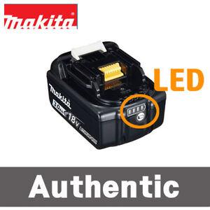 ONE MAKITA BL1830B 18V Lith-ion 3.0 AH Batteries W// Fuel Gauge Indicator BL1830