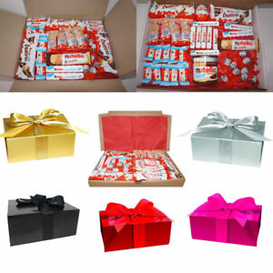 Details about LARGE KINDER CHOCOLATE BUENO HIPPO HAMPER GIFT BOX BIRTHDAY  KIDS FATHERS DAY