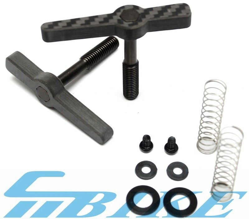 ACE Carbon + Titanium Hinge Clamp  Levers for Brompton Bicycle folding bike  100% fit guarantee