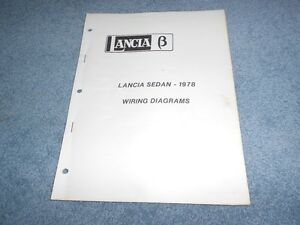 1978 lancia beta sedan wiring diagrams technical training factory image is loading 1978 lancia beta sedan wiring diagrams technical training cheapraybanclubmaster Image collections