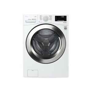 "LG WM3700HWA 27"" White Front-Load 4.5 cu. ft. Smart Washer NIB #106311"
