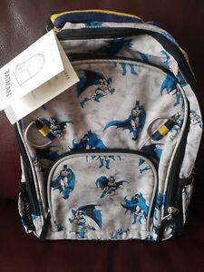 New Pottery Barn Kids Batman Small Superheros Backpack No