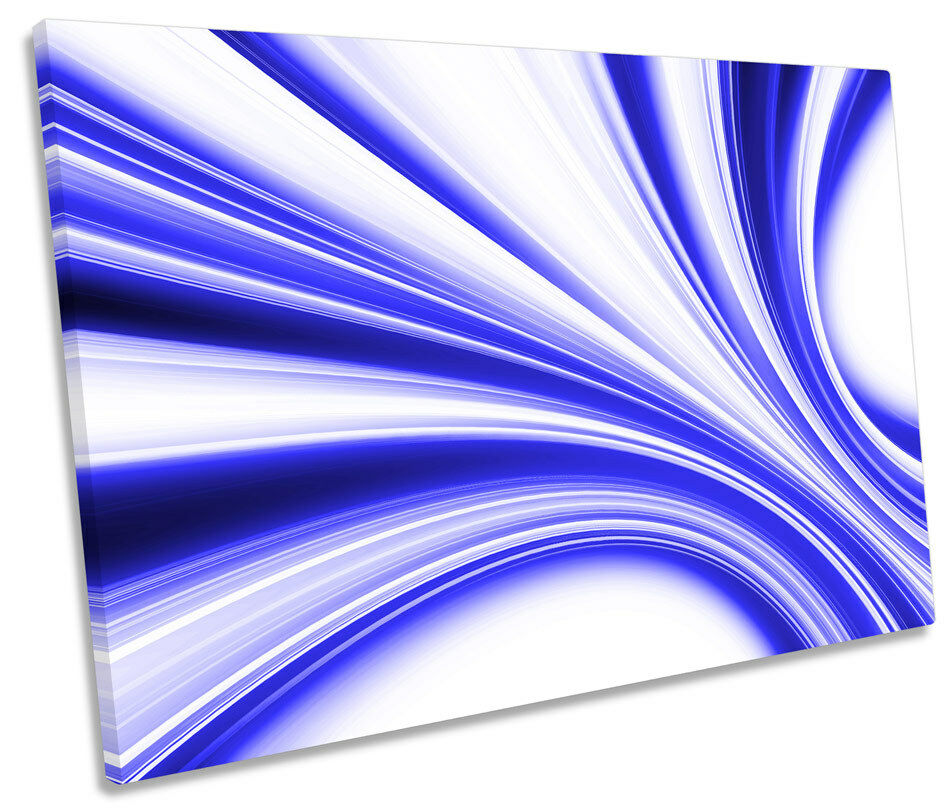 Abstract Motion Blaur Modern SINGLE CANVAS WALL ART Picture Print