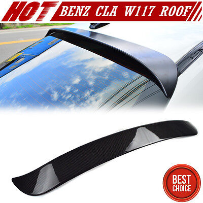 STOCK USA CARBON MERCEDES BENZ C117 OE TYPE ROOF SPOILER CLA220 CLA45 2018