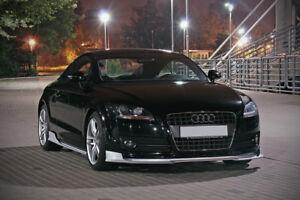 Audi-Tt-8j-Front-Bumper-Lip-Divisor-Bastidor