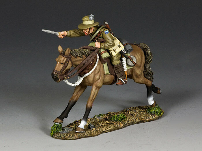 AL097 Australian Light Horse Trooper Charging w Bayonet by King & Country