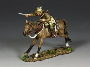 AL097 Australian Light Horse Trooper Charging w/Bayonet by King & Country