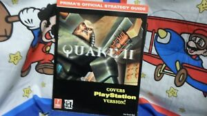 Details about Prima Official Quake II Strategy Guide Book N64 PS1