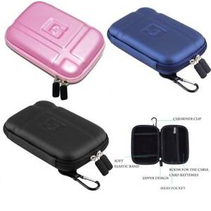 "5"" Hard Shell Carrying GPS Bag Case Shockproof Box for 5-inch Garmin Nuvi GPS"