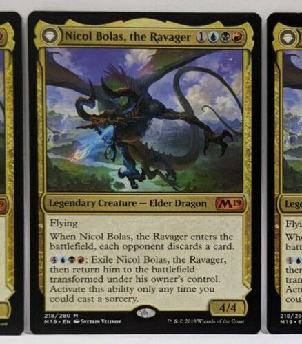 the Ravager   the Arisen M19 NM Mythic Rare Magic the Gathering 1x Nicol Bolas