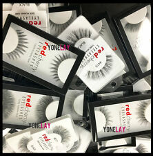 Any 3 Pairs RED CHERRY Human Hair Lash False Eyelashes Fake Eye Lashes