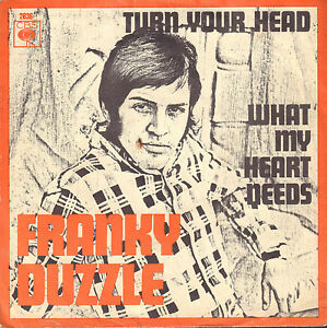 FRANKY-DUZZLE-Turn-Your-Head-1967-RARE-NEDERBEAT-SINGLE-7-034-45-HOLLAND