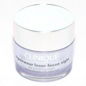 Clinique-Repairwear-Laser-Focus-Night-Line-Smoothing-Cream-1-7-oz-50ml-Full-Size
