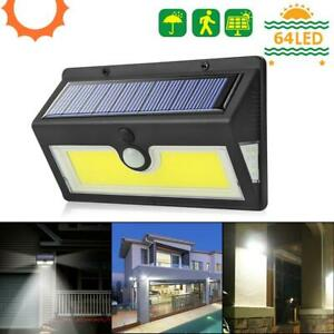 Waterproof 20 Led Solar Power Pir Motion Sensor Wall Light Outdoor Garden EJ