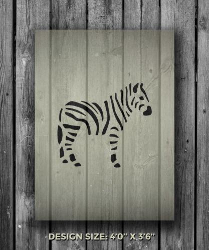 A5 Zebra Mylar Reusable Stencil Airbrush Painting Art Craft DIY Home Decor
