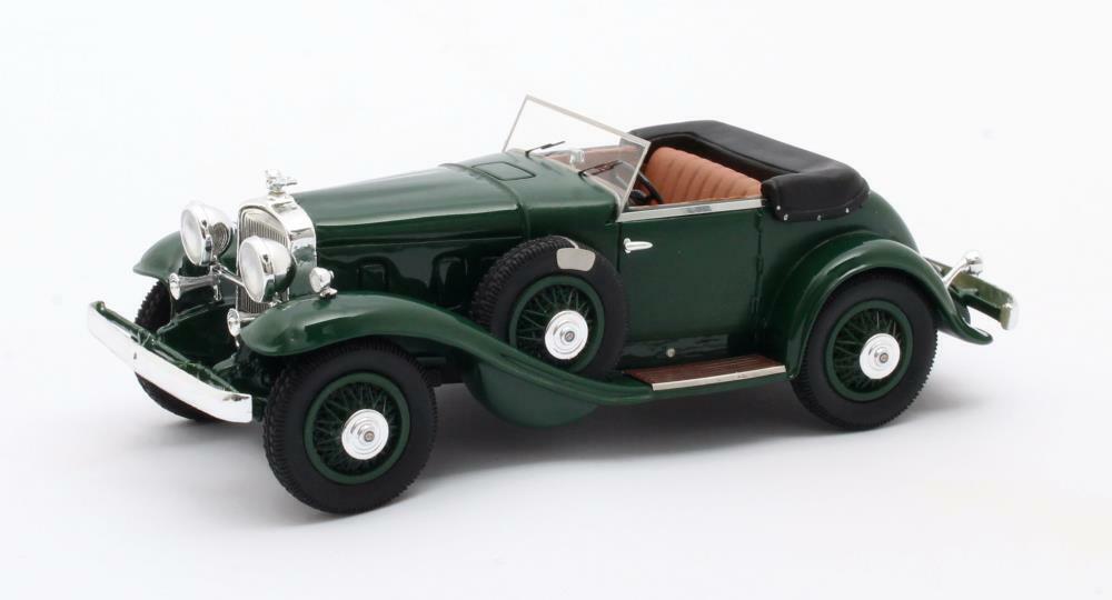 Stutz DV32 Super Bearcat Cabriolet Grüne - 1932   Matrix 1 43