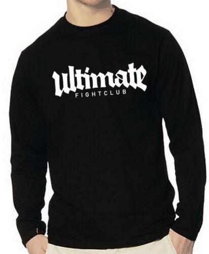 Gr Ultimate Fight Club Longsleeve S bis XXL