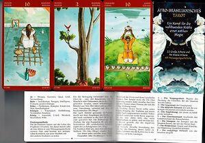Afro-Brasilianisches-Tarot-78-Karten-Anleitungsheft-NEU-OVP-Sammler