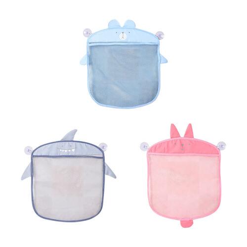 1PC Cute Baby Bath Time Toy Tidy Storage Hanging Bag Mesh Net Bathroom Organiser