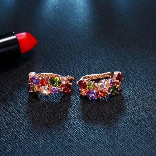 Silver Earrings 75/% Off Morganite Amethyst Garnet Peridot 925 Sterling ZH1