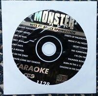 Hits Of Bruce Springsteen Karaoke Cdg Monster Hits Rock Cd+g Glory Days Mh1128