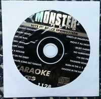 Hits Of Bruce Springsteen Karaoke Cdg Monster Hits Rock Cd+g Glory Days Mh1128