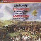 Tchaikovsky: 1812 Overture; Romeo & Juliet; Marche Slave LP (Vinyl, Feb-2011, Hi. Q)