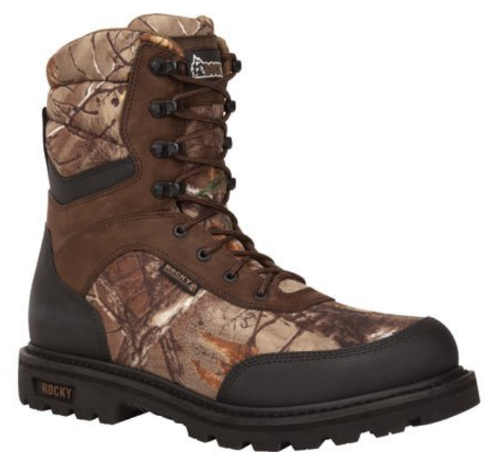 Rocky Brute Waterproof Hunting Boots WIDE - RKYS097 400g Insulated AP Xtra Camo