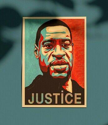 George Floyd HOPE-JUSTICE Artwork | eBay