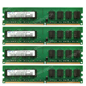 Samsung-16GB-4x4GB-PC2-6400-DDR2-800-240pin-Memory-For-AMD-Chipset-AM2-Socket-MB