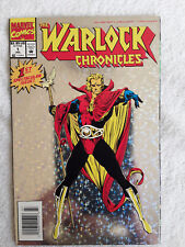Special Holo Chromium Cover The Warlock Chronicles No.1 1993 Infinity Crusade