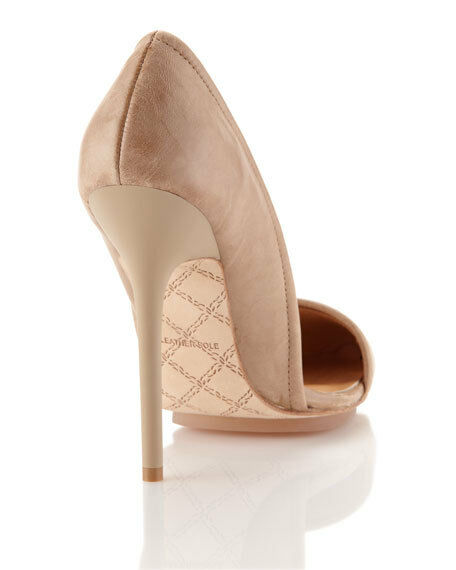 L.A.M.B. Pump, Taupe Taupe Pump, Größe 3.5 UK 212cd3