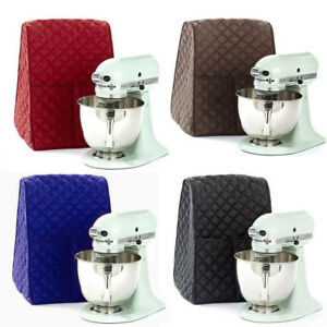 4-Colors-Cloth-Quilted-Pocket-Cover-Home-Dust-For-KitchenAid-Durable-Mixer-Cover
