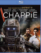 Chappie (Blu-ray Disc, 2015, With Digital Copy UltraViolet) - NEW!!