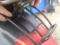 Vespa GT GTS GTV Rear Sprint Rack - Black