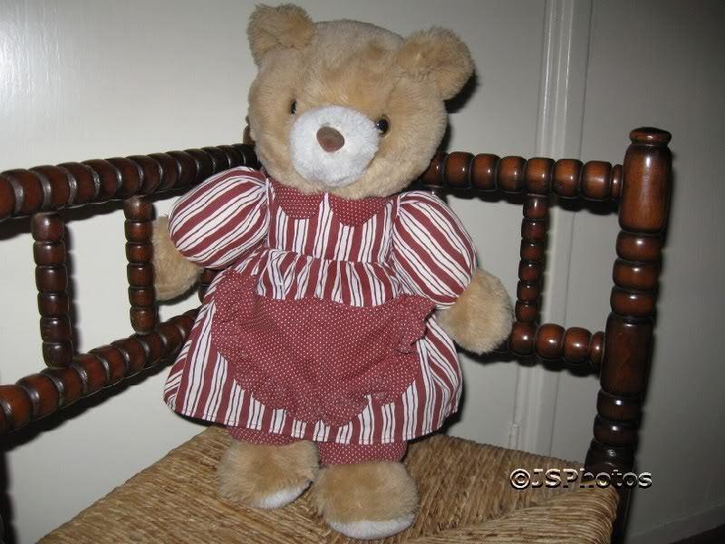 Simba Super Toys Germany Vintage Mother Bear Teddy